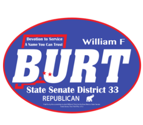 Bill Burt New Mexico Senator Retina Logo